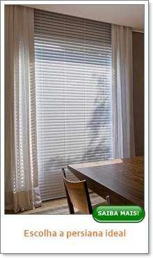 Como escolher a persiana ideal?