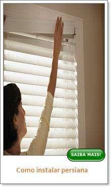Como instalar persiana?